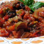 Caponata siciliana di melanzane