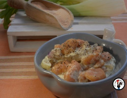 Gnocchi di lenticchie al ragù di sedano