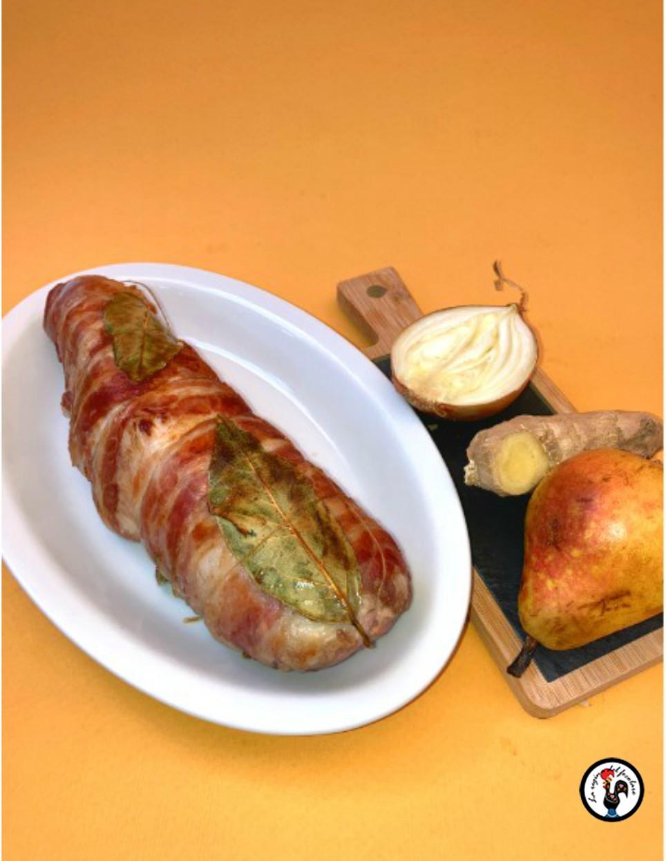 Filetto di maiale e cutney di pera