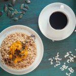 Risotto al caffè mantecato alla zucca