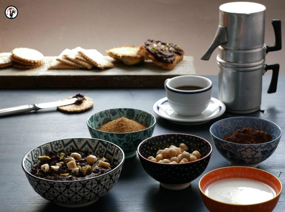 Hummus di ceci al cioccolato