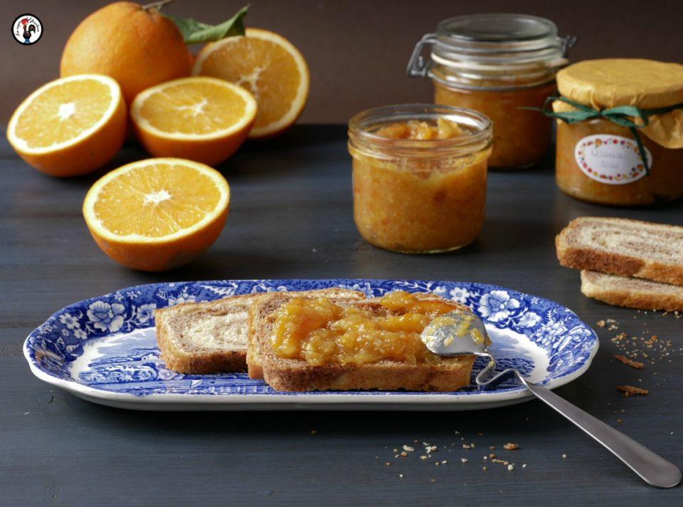 Marmellata di arance biologiche con meno zucchero
