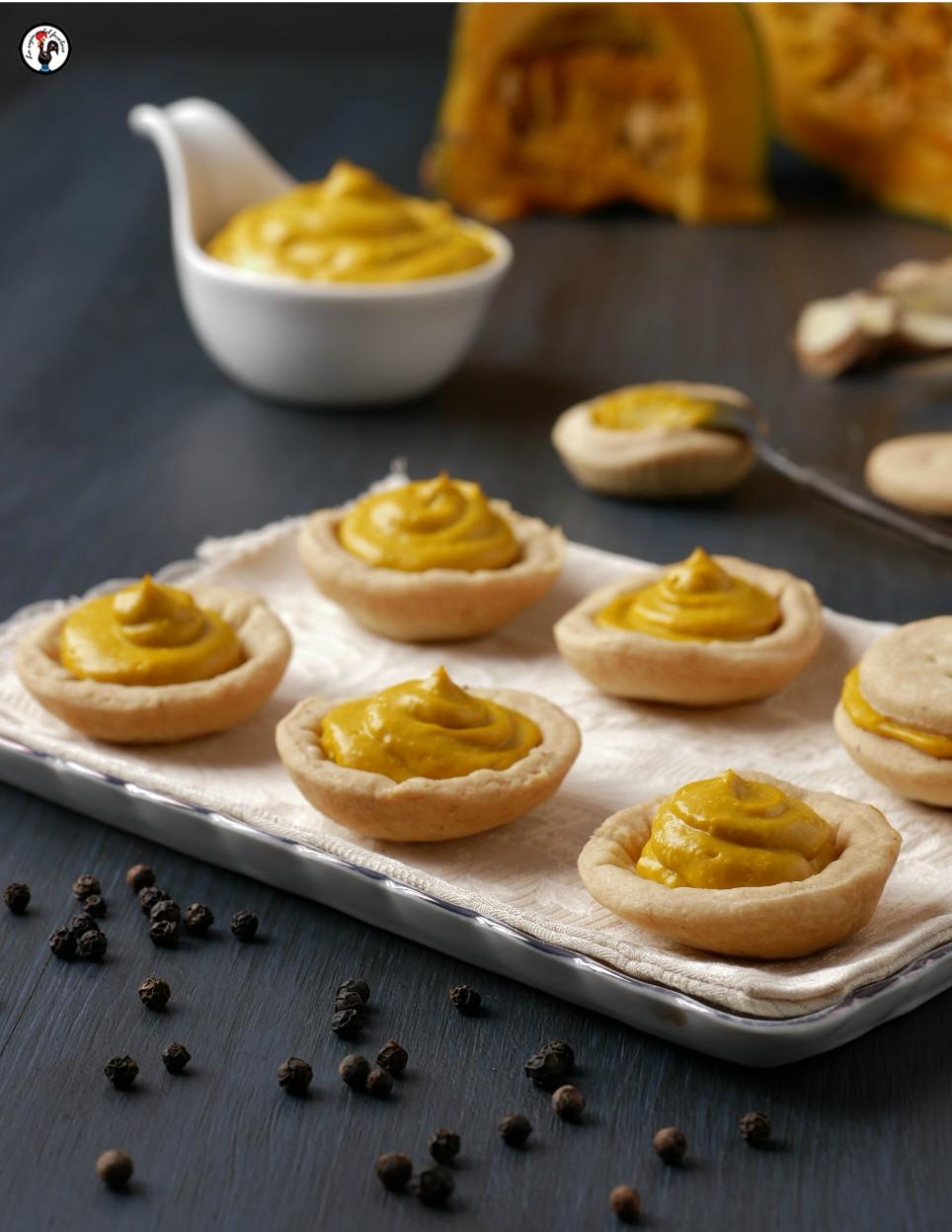 biscotti al pepe nero con zucca e zenzero
