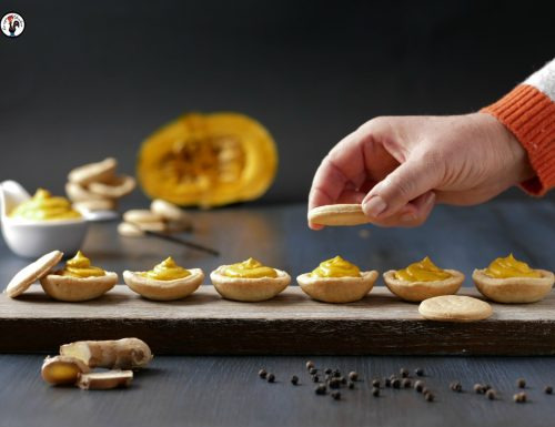 Biscotti salati alla zucca – Antipasto per le feste
