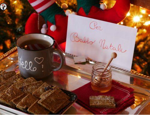 Biscotti per Babbo Natale – Con farina di canapa e mirtilli