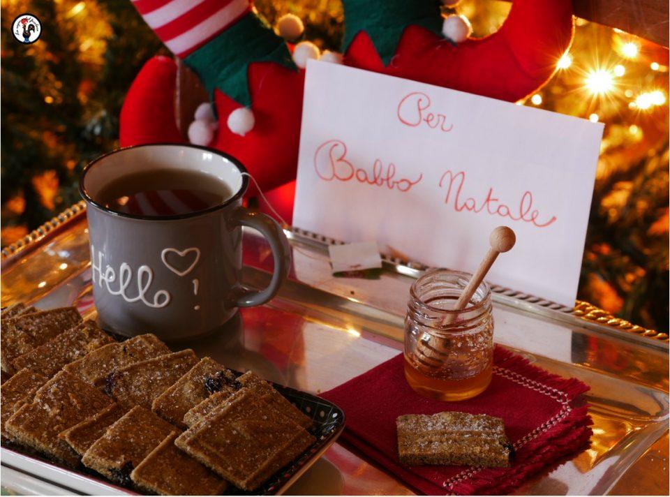 Biscotti per Babbo Natale, con farina di canapa e mirtilli