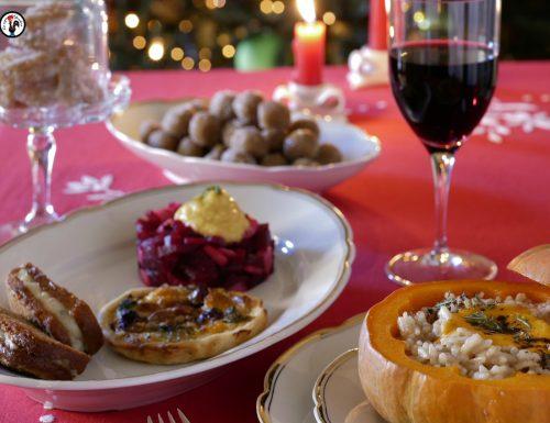 Pranzo di Natale vegetariano – Tre proposte bellissime