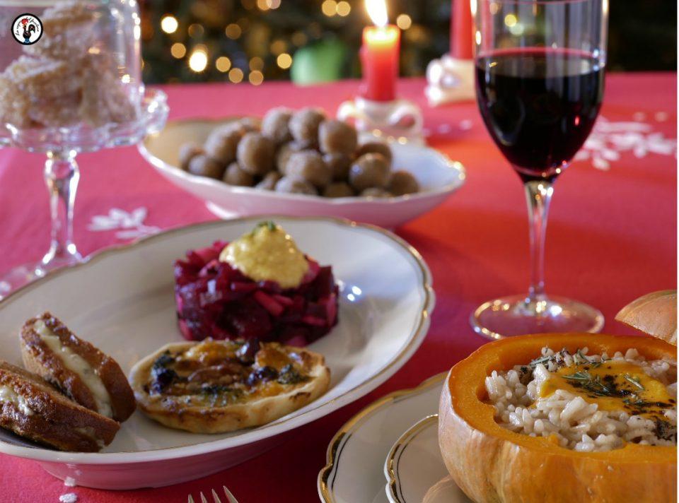 Pranzo di Natale vegetariano