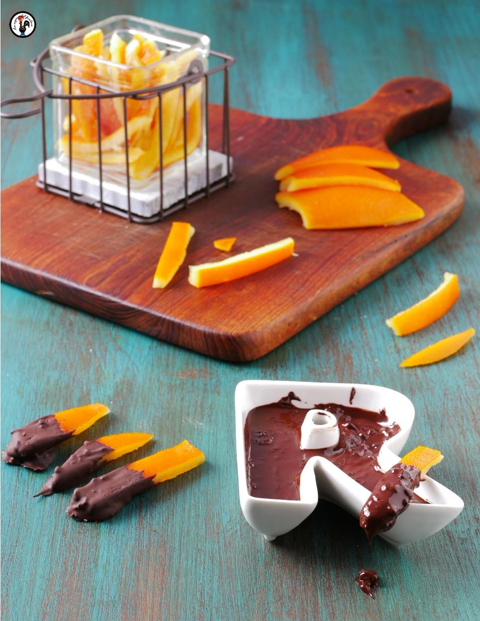 Scorzette di arance candite home made