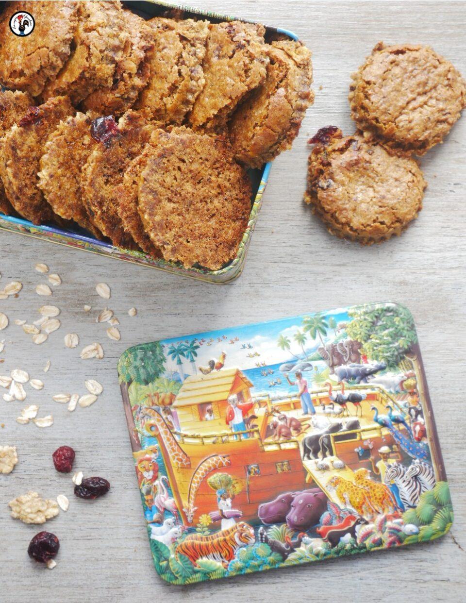 Biscotti vegani croccanti