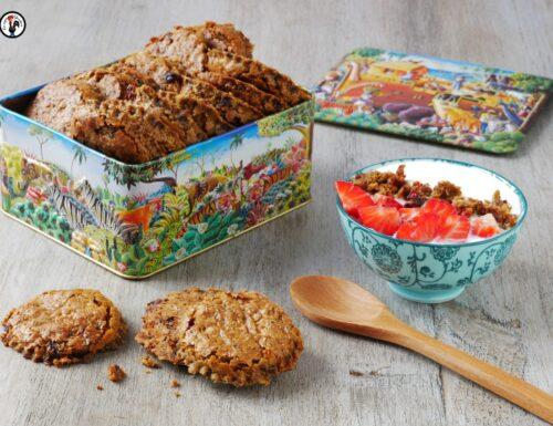 Biscotti croccanti con cereali e farina di legumi: facili e veloci