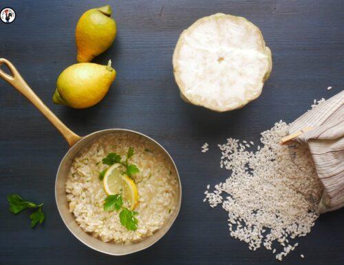 Risotto al sedano rapa – Ricetta con la tahina