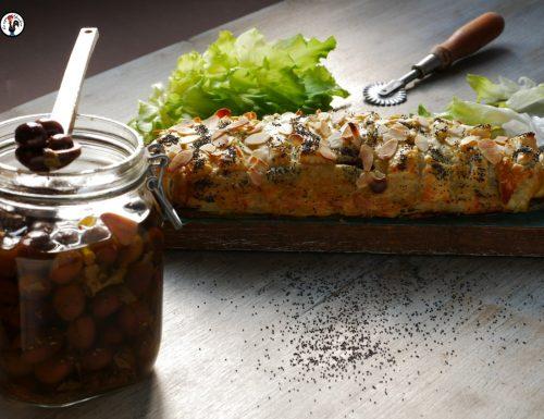 Rotolo con scarola alla siciliana – Ricetta vegetariana salvacena