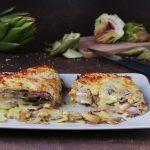 Sformato di carciofi, patate e besciamella