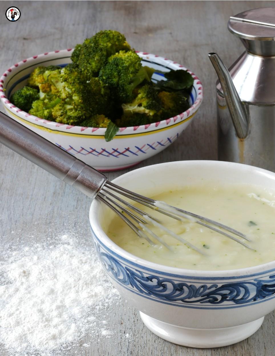 Besciamella cremosa senza latte e burro