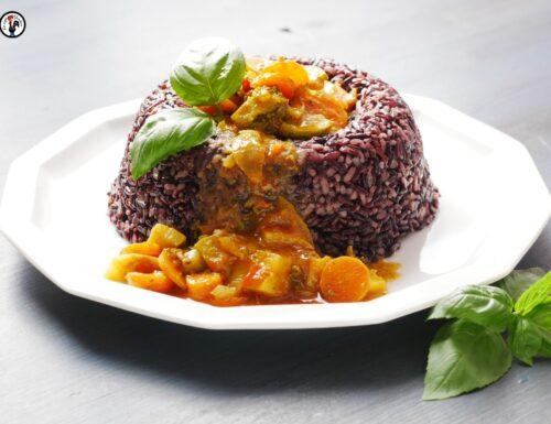 Riso venere e verdure al curry – Come preparare un piatto unico colorato ed elegante per tante persone