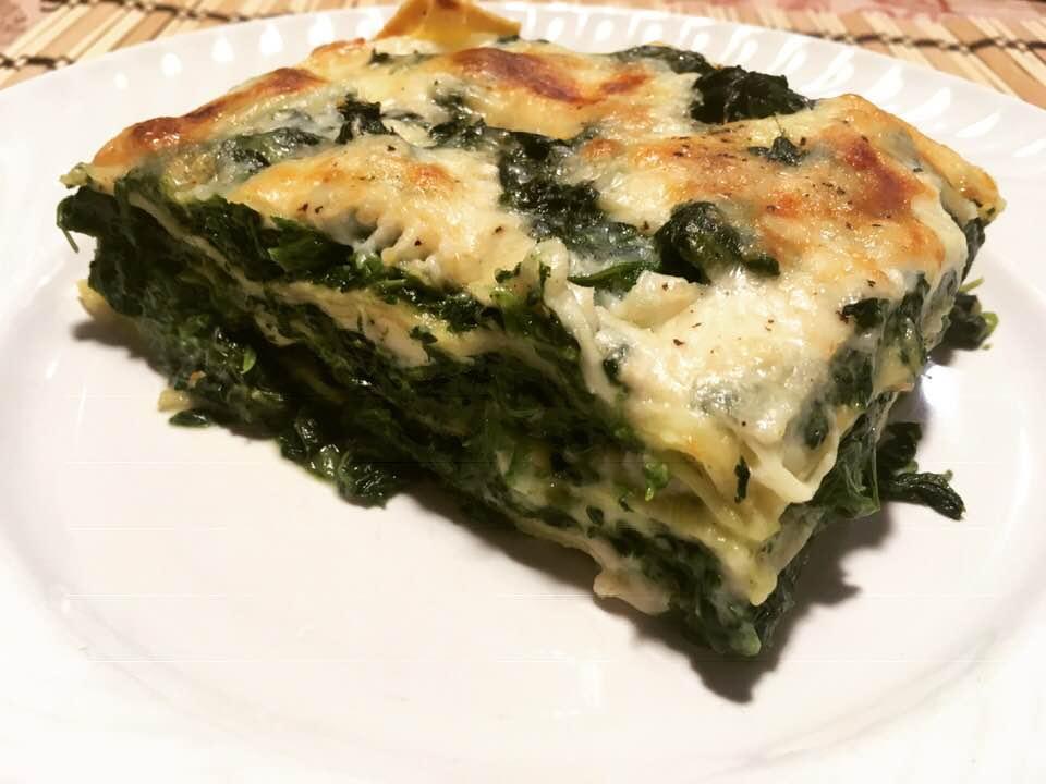 Ricetta Lasagne E Spinaci.Lasagne Agli Spinaci La Ricetta Del Giorno Di Vala