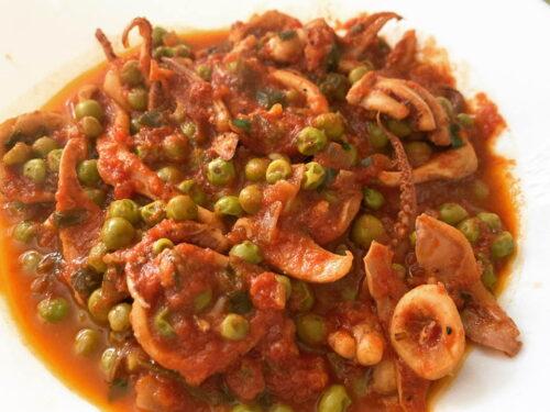Calamari al sugo