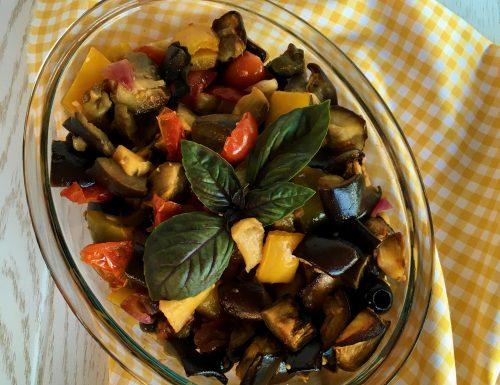 Verdure al forno in agrodolce