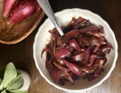 Cipolle di Tropea caramellate all'aceto balsamico