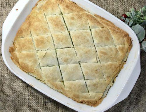 Torta salata greca Spanakopita