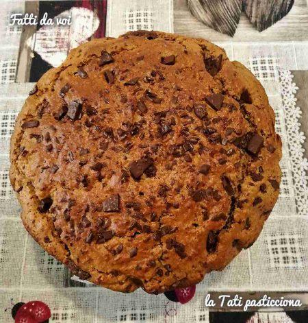 Torta waferina con Nutella e gocce di cioccolato