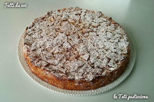 pizap.com monia e virginia torta di mele senza lievito