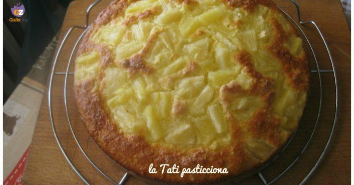 torta ricotta ananas e cocco IMMAGINE IN EVIDENZA