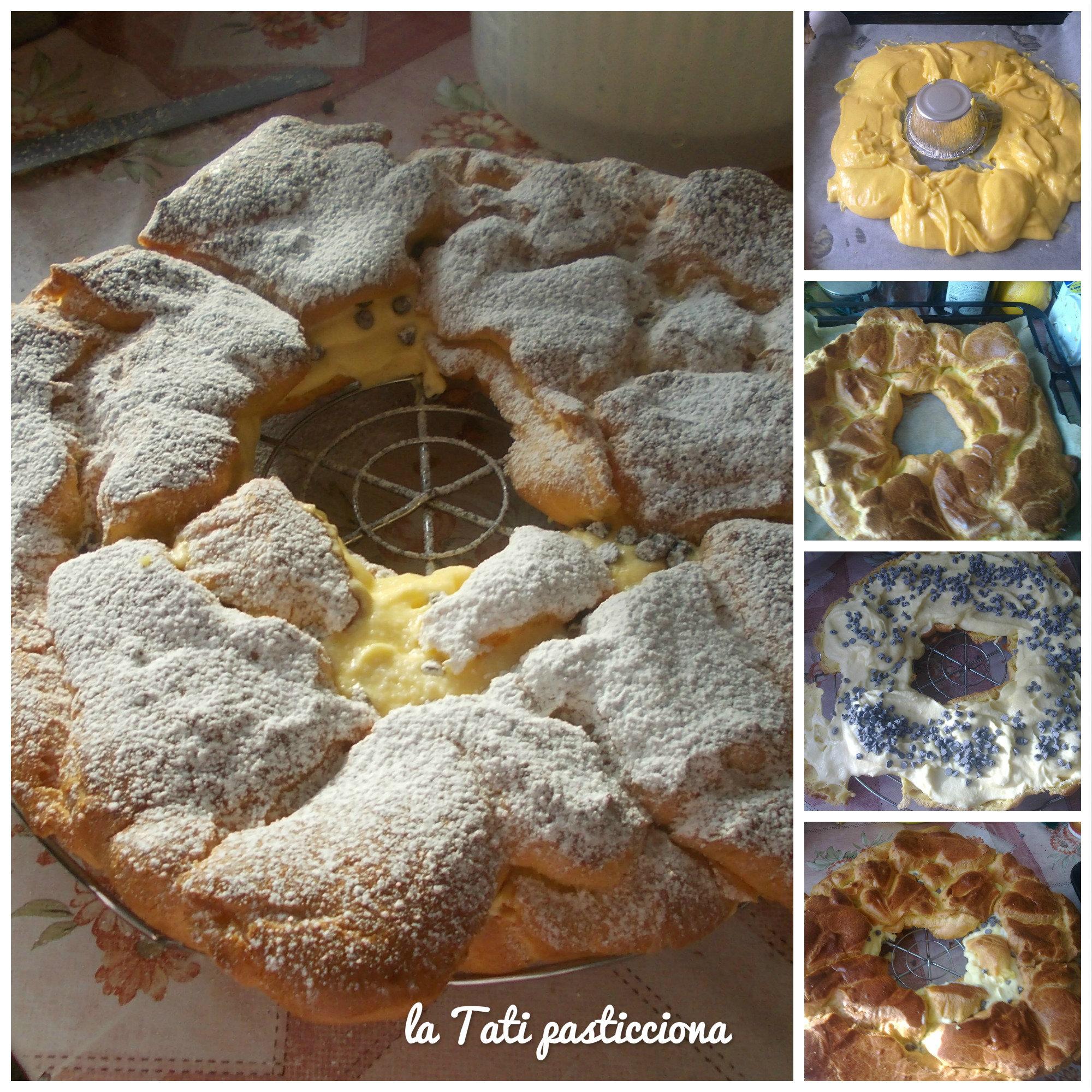 Ciambella in Pasta di Bignè Ripiena