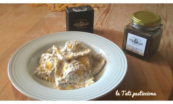 Ravioli patate taleggio e salsa tartufata