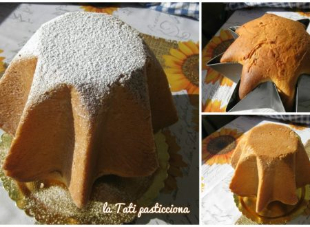Pandoro con impasto di patate