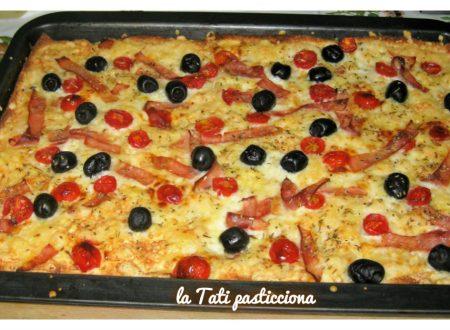 Pizza veloce di pancarrè