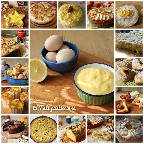 raccolta dolci con crema PASTICCERA VELOCE FOTO BLOG1