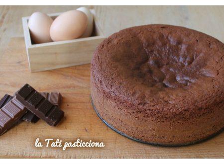 Pandispagna al cioccolato – ricetta base