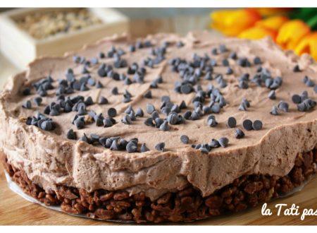 Cheesecake riso soffiato e nutella
