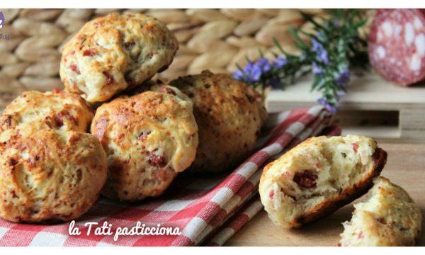 Panini aglio salame e rosmarino