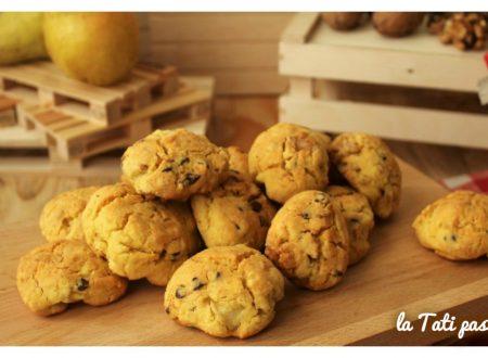 Biscotti noci pere e gocce di cioccolato GLUTEN FREE
