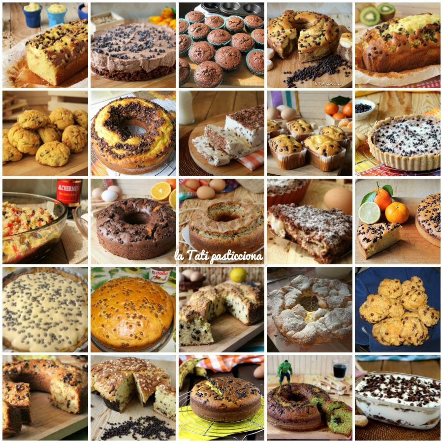raccolta dolci con gocce di cioccolato FOTO BLOG NEW