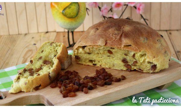 Panina gialla con uvetta – ricetta tradizionale toscana