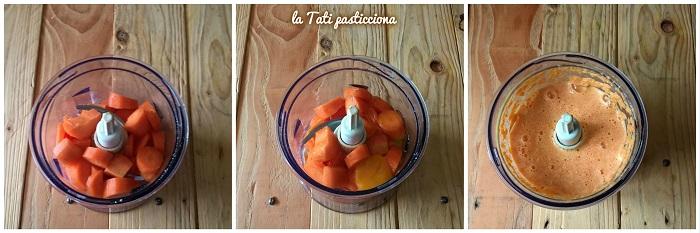 ciambella di carote senza zucchero 1comp