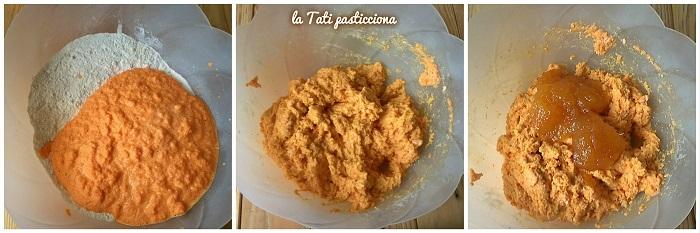 ciambella di carote senza zucchero 3comp
