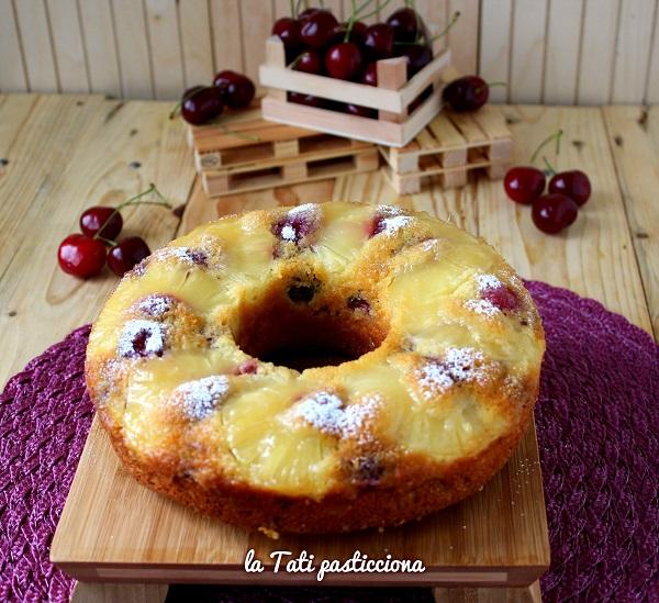 ciambella rovesciata ananas e ciliegie 2 COMP