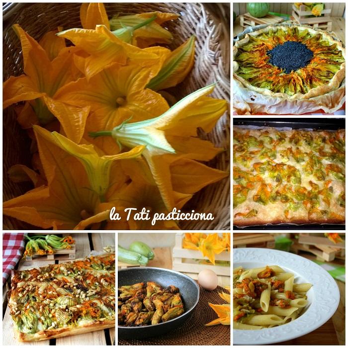 raccolta ricette con fiori di zucca FOTO BLOG COMP
