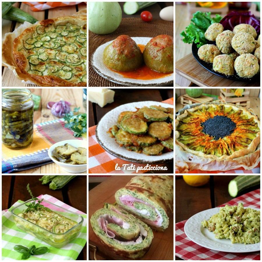 raccolta ricette con zucchine FOTO BLOG OKKKK