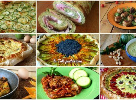 Raccolta ricette con zucchine