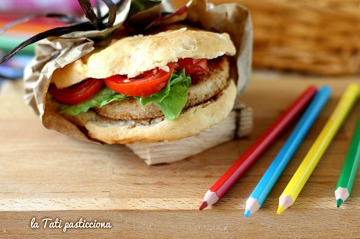 focaccine veloci con hamburger di ricotta foto blog 2COMP