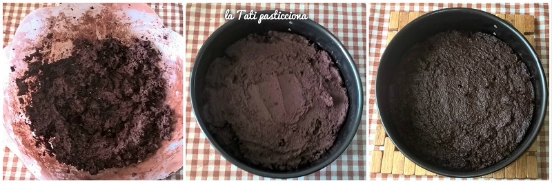 dolce cioccolatoso senza farina 4