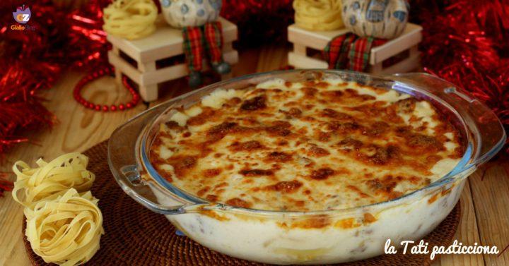nidi di lasagnette al forno IMMAGINE IN EVIDENZA