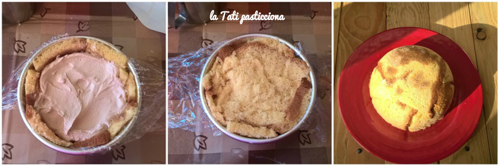 zuccotto di pandoro al gelato 2comp