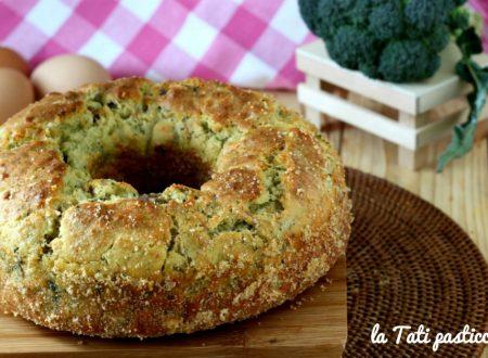 Ciambella rustica broccoli e salsiccia